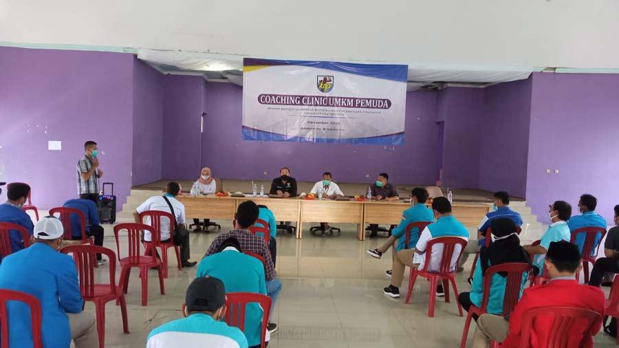 29 DPK KNPI Se-Kabupaten Tangerang Ikuti Coaching Clinic UMKM