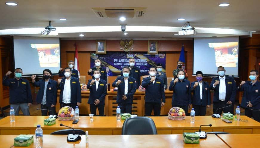 Bupati Tangerang lantik pengurus Karang Taruna Periode 2020-2025
