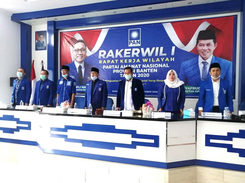 DPW PAN Banten Gelar Rakerwil I untuk Penguatan Struktur Kader Partai yang Responsif Menuju 3 Besar