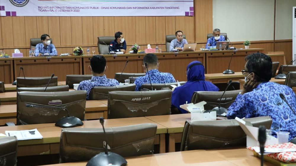 Diskominfo Terus Sosialisasikan Informasi yang di Kecualikan di Kab Tangerang