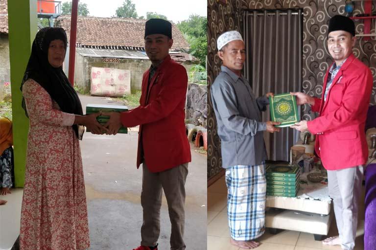 PA GMNI KabupatenTangerang Bagikan Al-Quran ke Ponpes dan Mushola