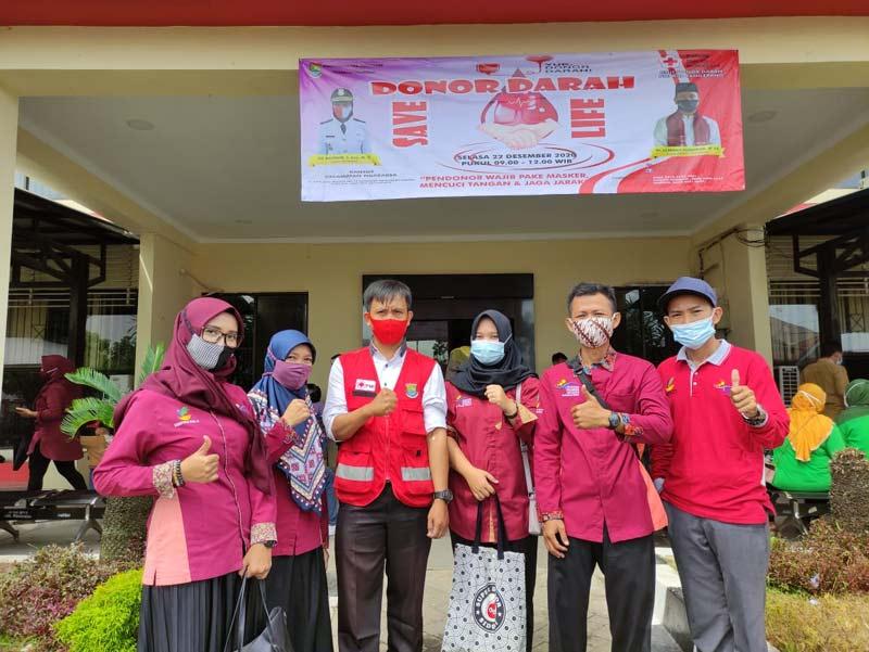 PKH Tigaraksa Partisipasi Dalam Kegiatan Donor Darah PMI