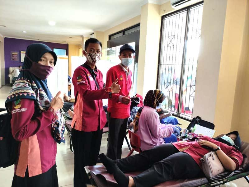 PKH Tigaraksa Partisipasi Dalam Kegiatan Donor Darah PMI2