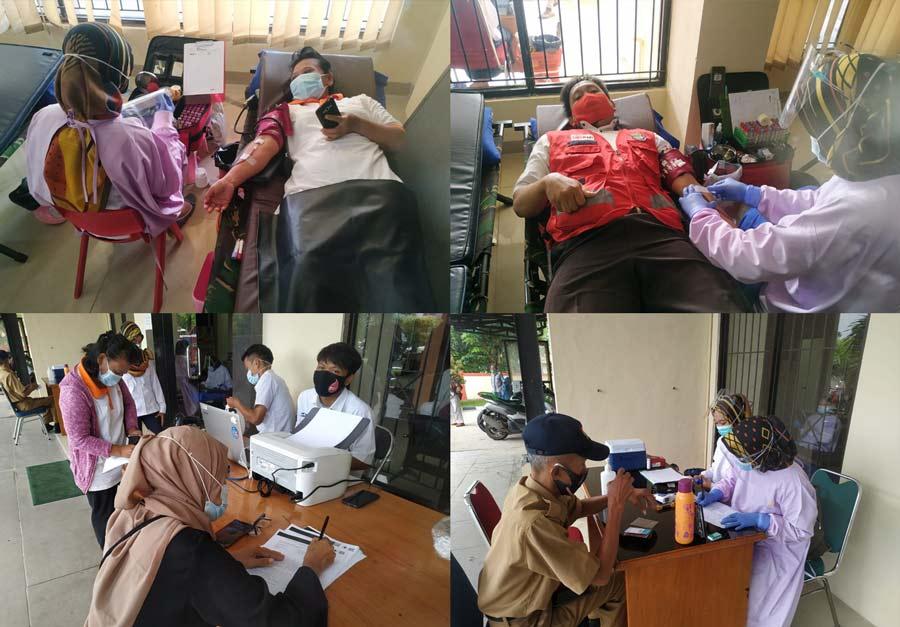 Peringati Hari Ibu, PMI dan Pemerintah Kecamatan Tigaraksa Gelar Donor Darah1