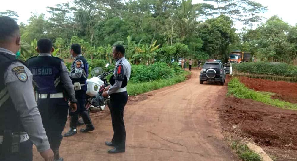 Tegakkan Perda, Aktivitas Galian Tanah Tak Berizin di Tigaraksa Di Tutup Satpol PP