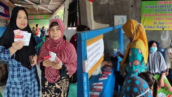 Bantuan Dana PKH Cair, KPM Saya Sangat Senang Sekali