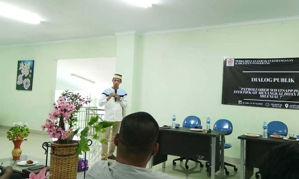 Ini Harapan Ketua PGK Tangerang kepada Kapolres Baru