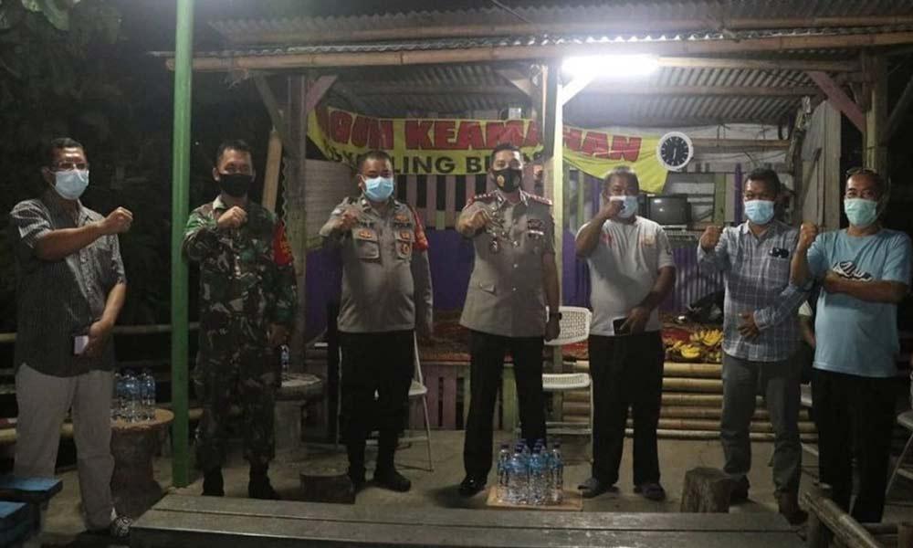 Kapolresta Tangerang Sambangi Poskamling Perumahan Puri Bidara