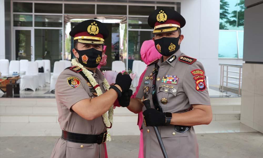 Kombes Pol Wahyu Sri Bintoro Resmi Pimpin Polresta Tangerang