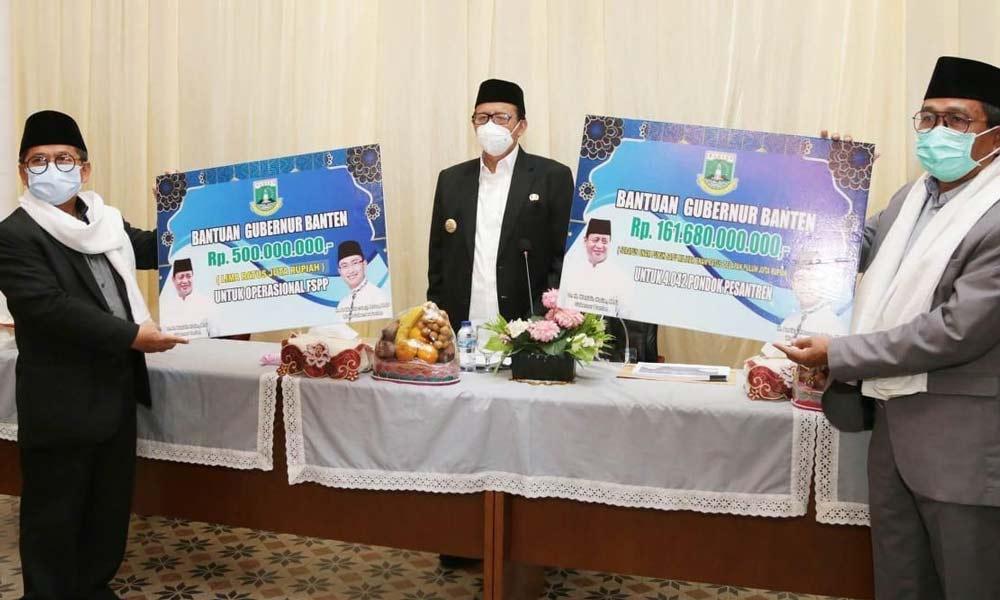 Pemprov Banten Bantu Rp161 Miliar untuk Ponpes dan FSPP Rp500 Juta