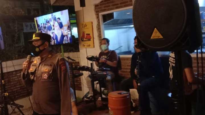 Polres Serang Kota Gencar Tegakkan Protokol Kesehatan