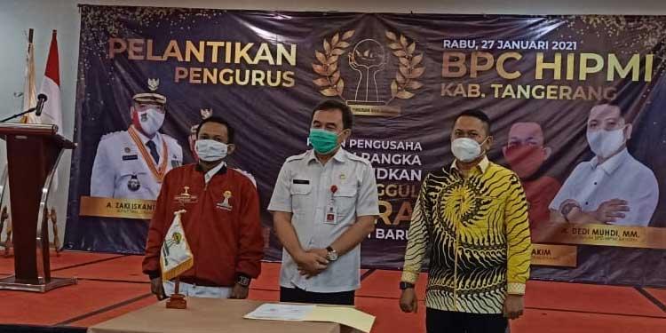 Resmi di Lantik, Lukman Nurhakim Pimpin BPC HIPMI Kabupaten Tangerang