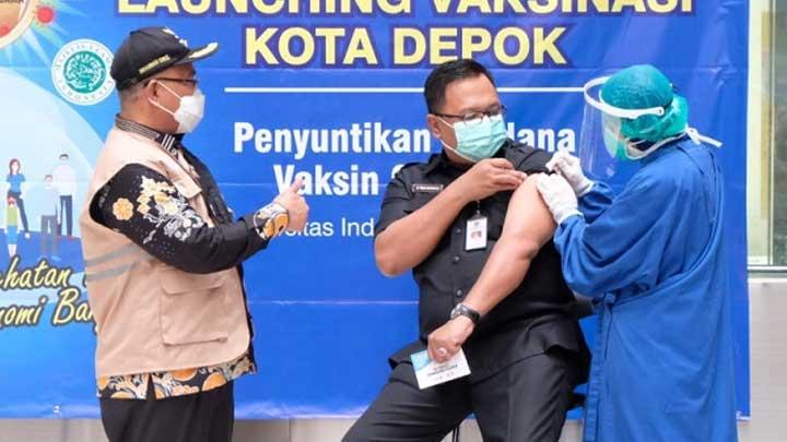 Sudah Suntik Vaksin Tahap I, Wakil Wali Kota Depok Positif Covid-19