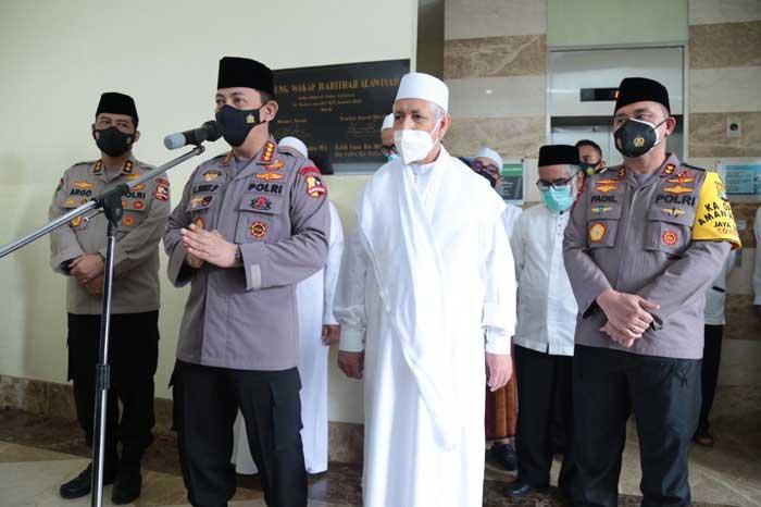 Usai Kunjungi PBNU dan Muhammadiyah, Kapolri Sowan ke Rabithah Alawiyah