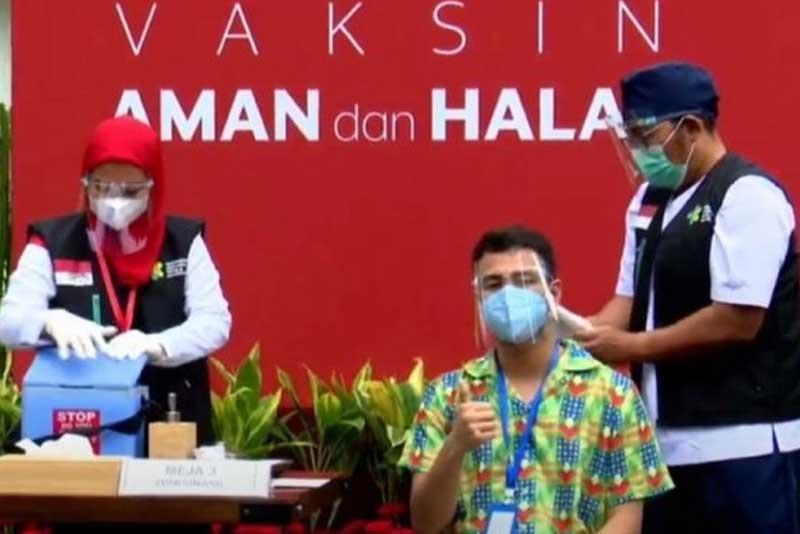 Usai Vaksinasi Tahap 2, Raffi Ahmad: Ngantuk dan Pegal