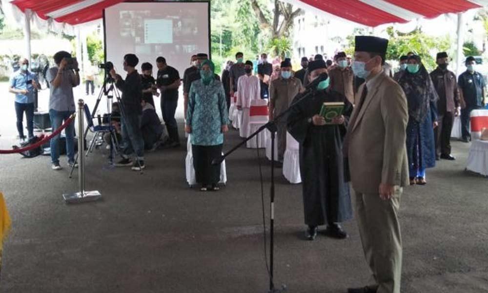 Usai di Lantik Wali Kota Serang, Nanang Saefudin Resmi Jabat Sekda Kota Serang