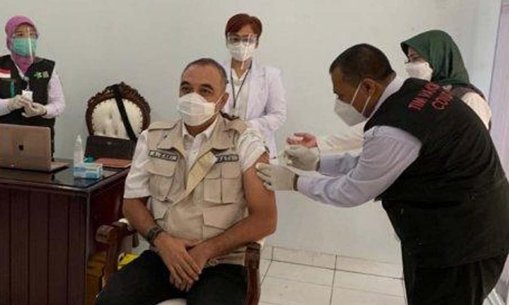 Vaksinasi Covid-19 Tahap Pertama di Gelar di Pendopo Hari ini