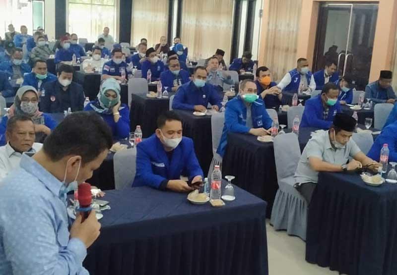 DPW PAN BAnten Gelar Silaturahmi dengan Calon Formatur