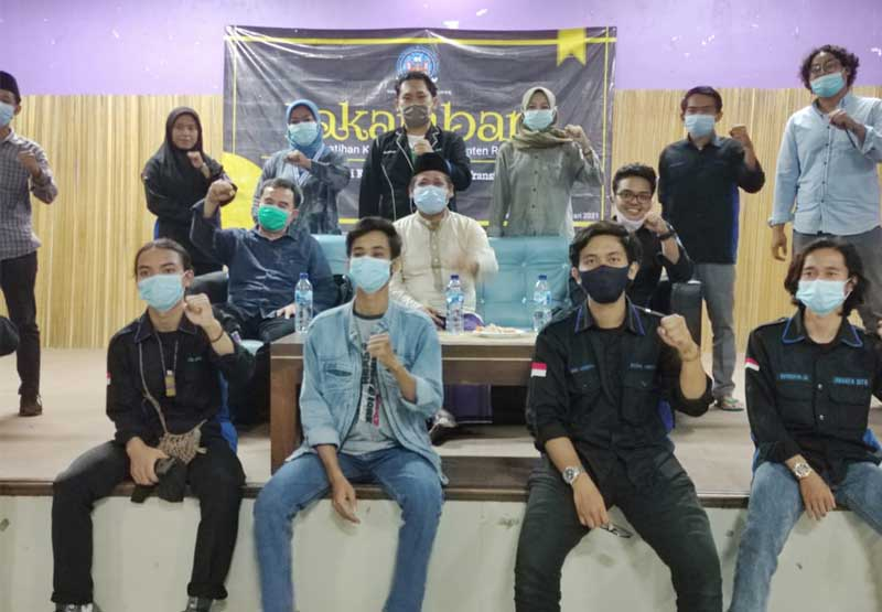 Latihan Kader Mahasiswa Banten Raya