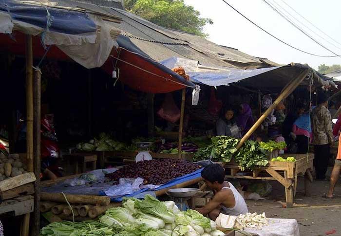 Lagi-lagi Bangunan pasar tradisional di Kabupaten Tangerang Diduga Tanpa IMB