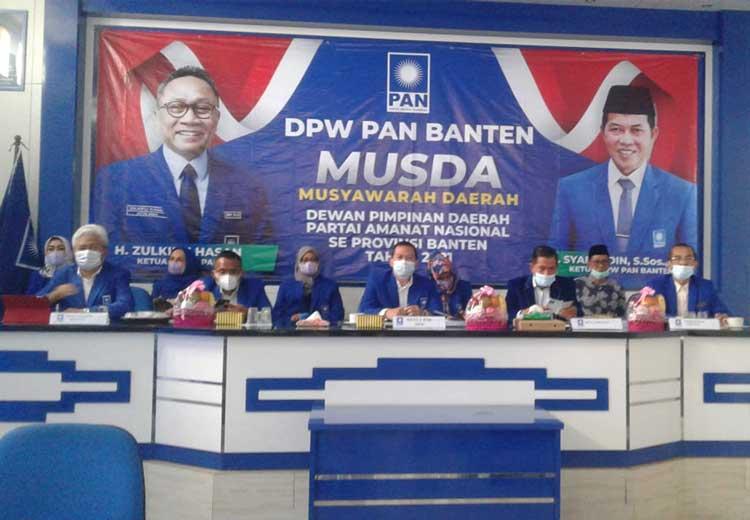 Musda PAN Digelar Serentak, 4 Calon Formatur DPD PAN Kabupaten Tangerang Menunggu Keputusan DPP