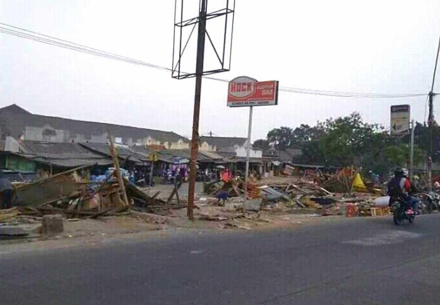 Pedagang Blok GK Pasar Balaraja Sentiong Diminta Kosongkan Kios