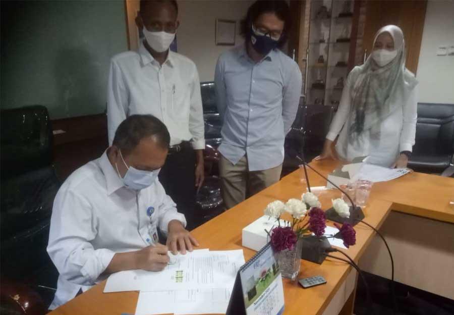 Pengembang Sepakat Penuhi Tuntutan PSU Warga Perumahan Buana Gardenia