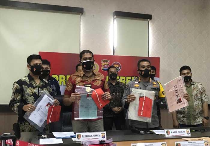 Polda Banten Bongkar Kasus Mafia Tanah Libatkan Oknum Pegawai Kecamatan