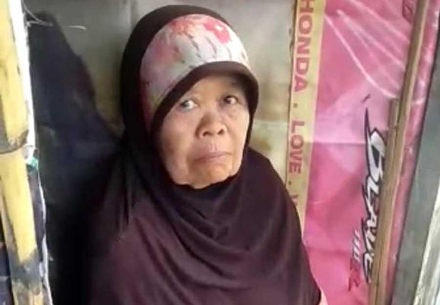 Ya Allah, Di Kabupaten Tangerang Ada Nenek 10 Tahun Tinggal Sendirian di Bekas Pos Ronda