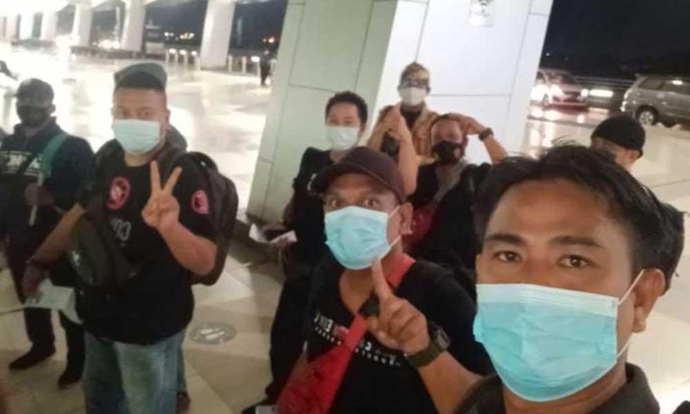 Gelar Baksos di Aceh Utara, PAS Berangkatkan Sembilan Jurnalis Asal Banten