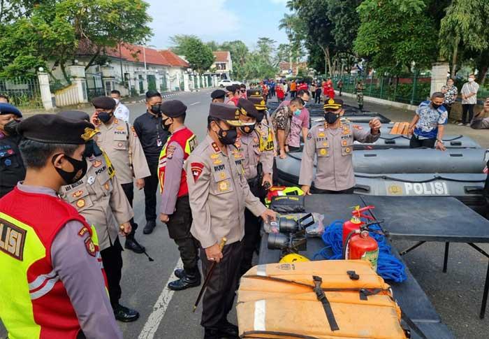 Kapolda Banten Cek Kesiapan Antisipasi Bencana Alam