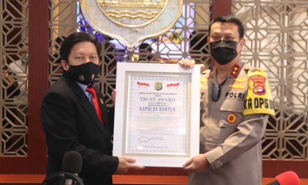 Komitmen Ungkap Sindikat Mafia Tanah, Lemkapi Beri Penghargaan Polda Banten