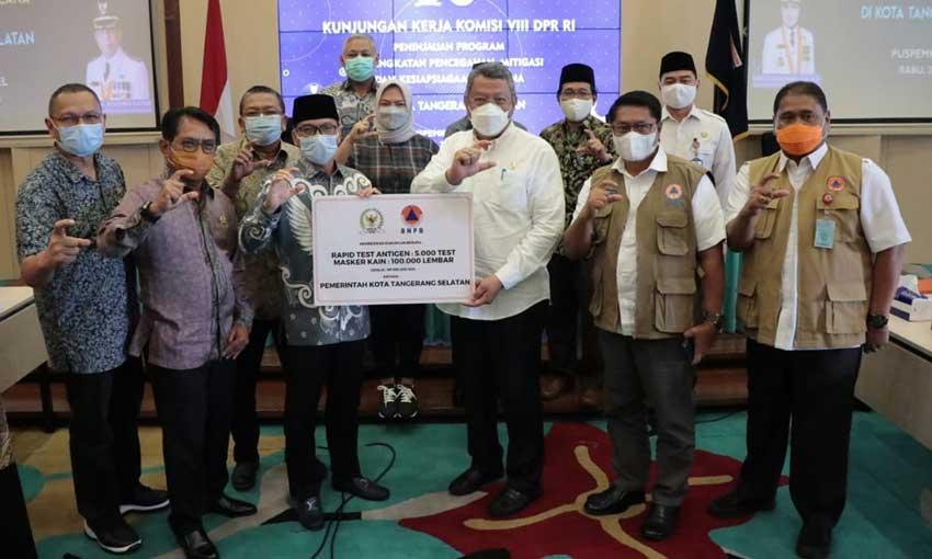 Komisi VIII DPR RI Kunker ke Puspemkot Tangsel
