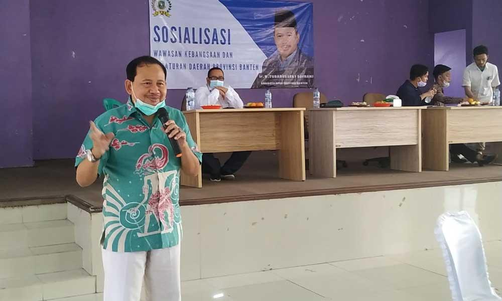 Mahasiswa Dan Pelajar Hadiri Sosialisasi 4 Pilar