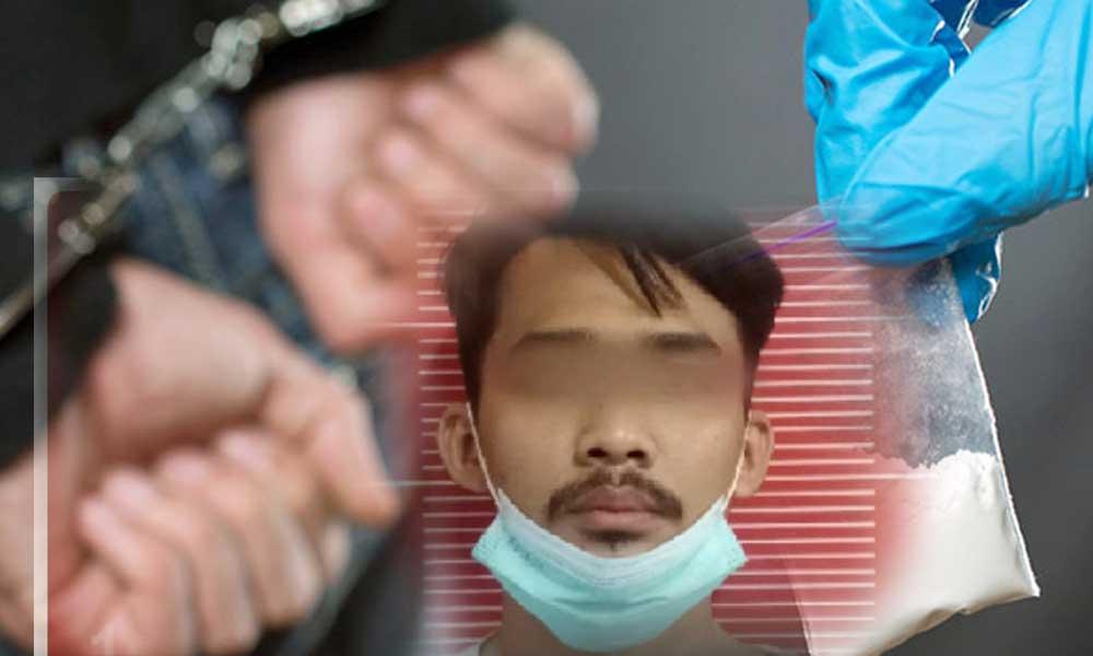 Seorang Pria Miliki Sabu Dibekuk Polresta Tangerang