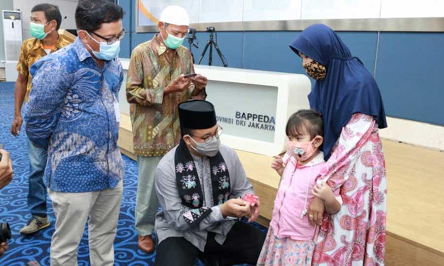 Pemprov DKI Jakarta Luncurkan Kartu Anak Jakarta
