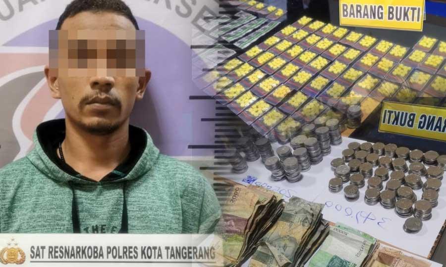 Polresta Tangerang Gerebek Penjualan Obat Keras Berkedok Toko Kosmetik