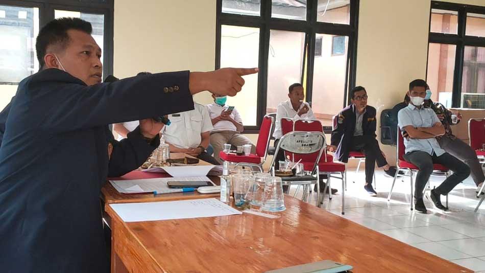 Rakor Katar Memanas, Retno Juarno Desak Ketua Katar Kabupaten Tangerang di Evaluasi