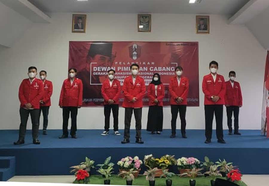 Resmi Dilantik, DPC GMNI Kabupaten Tangerang Siap Perkuat Kader Disetiap Kampus