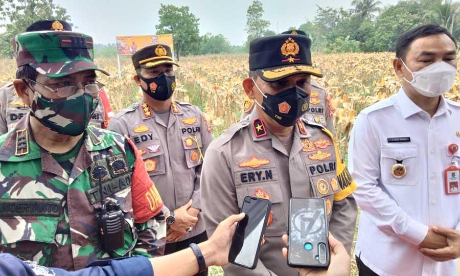Wakapolda Banten Kunjungi Kampung Tangguh Maung di Desa Jambe Kabupaten Tangerang