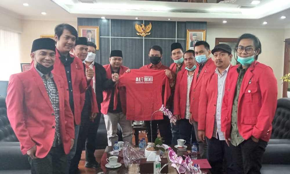 Wakil Ketua MPR RI Ahmad Basarah Sambut Kunjungan PA GMNI Kabupaten Tangerang