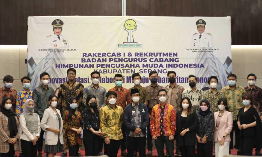 HIPMI Kabupaten Serang Siap Berkolaborasi Menuju Kebangkitan Ekonomi