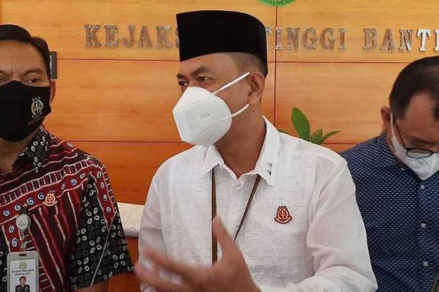 Kejati Banten Tetapkan Tersangka Korupsi Dana Bantuan Pesantren Rp117 M