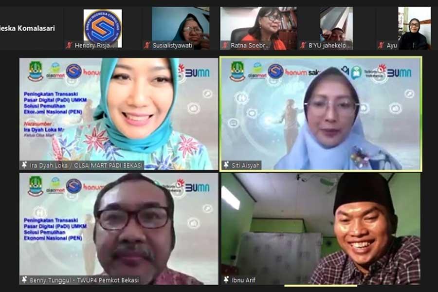 Olsamart Komunitas Pasar Digital Bekasi Pacu Digitalisasi Pasar Produk UMKM Solusi Pen