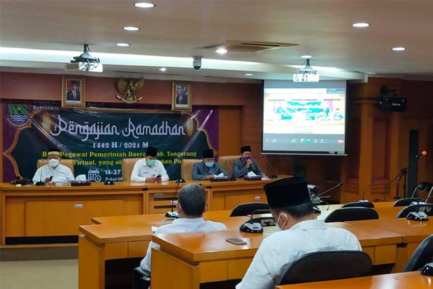 Pemkab Tangerang Gelar Pengajian Ramadhan
