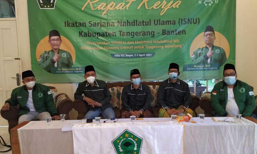 ISNU Kabupaten Tangerang Siapkan 5 Program Untuk Kegiatan Tahun 2021-2022