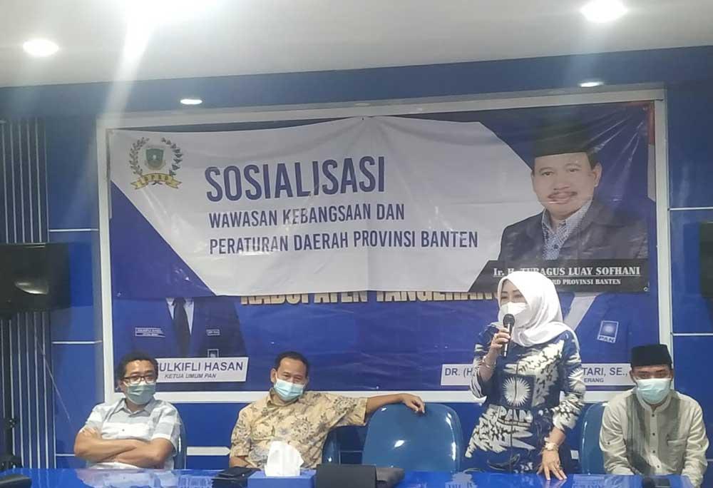 DPD Dan DPC PAN se-Kabupaten Tangerang Gelar Buka Puasa Bersama di Rumah PAN Baru