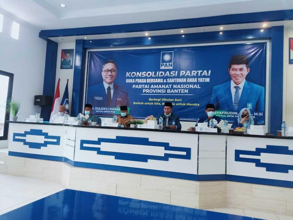 DPW PAN Gelar Konsolidasi dan Santunan Dengan 200 Yatim Serta Kaum Dhuafa