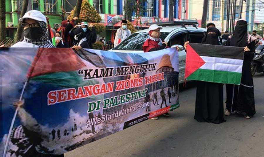 Galang Dana Untuk Rakyat Palestina Capai Puluhan Juta di Kota Tangerang
