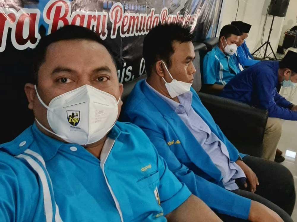 Gelar Bukber dan Konsolidasi, DPD KNPI Banten Singgung Dana Hibah